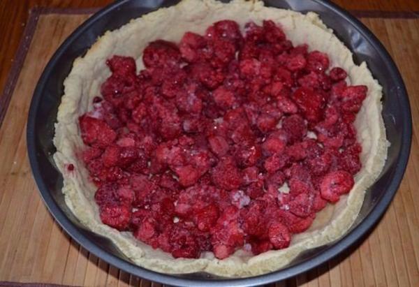 Цветаевский малиновый пирог рецепт фото