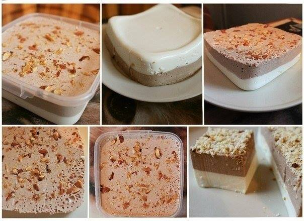 Творожный десерт из творога сметаны и сахара