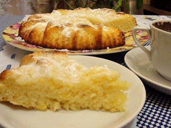 Манник с лимоном рецепт с фото