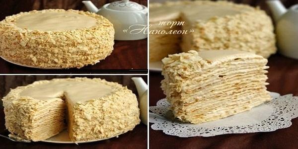 Торт - Наполеон - с очень вкусным кремом