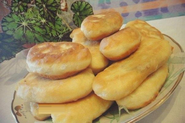 пышные пирожки простой рецепт